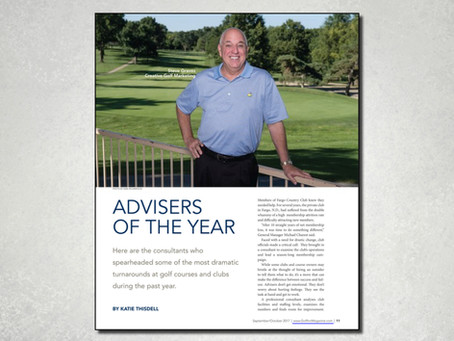 Advisers of The Year by Golf Inc.