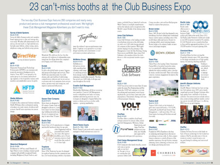 23 'Can't Miss' Booths at the CMAA World Conference - San Francisco