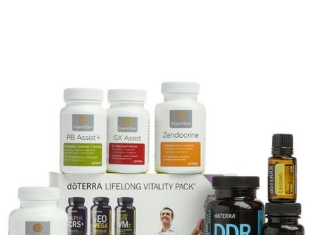 Programme detox et régénération avec les huiles essentielles doTERRA