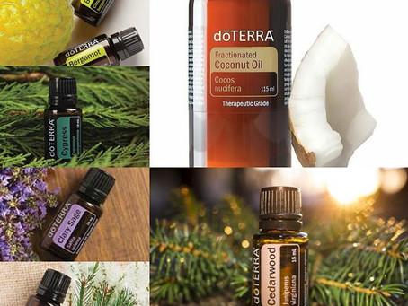 Déodorant naturel express avec les huiles essentielles doTERRA.