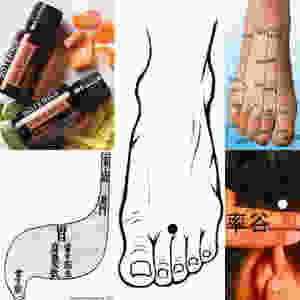 pulsions alimentaires et les huiles essentielles doterra & acupression