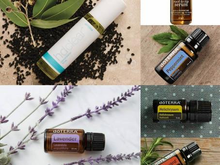 Mes 8 actions beauté, santé avec les huiles essentielles doTERRA
