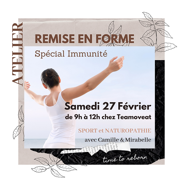 Atelier 27 Fév. 2021 - TEAMOVEAT x Camil