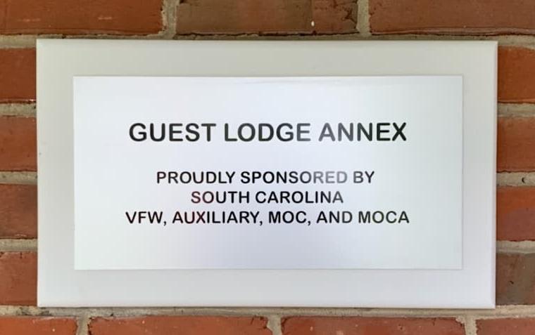 Guest Lodge Annex Plaque