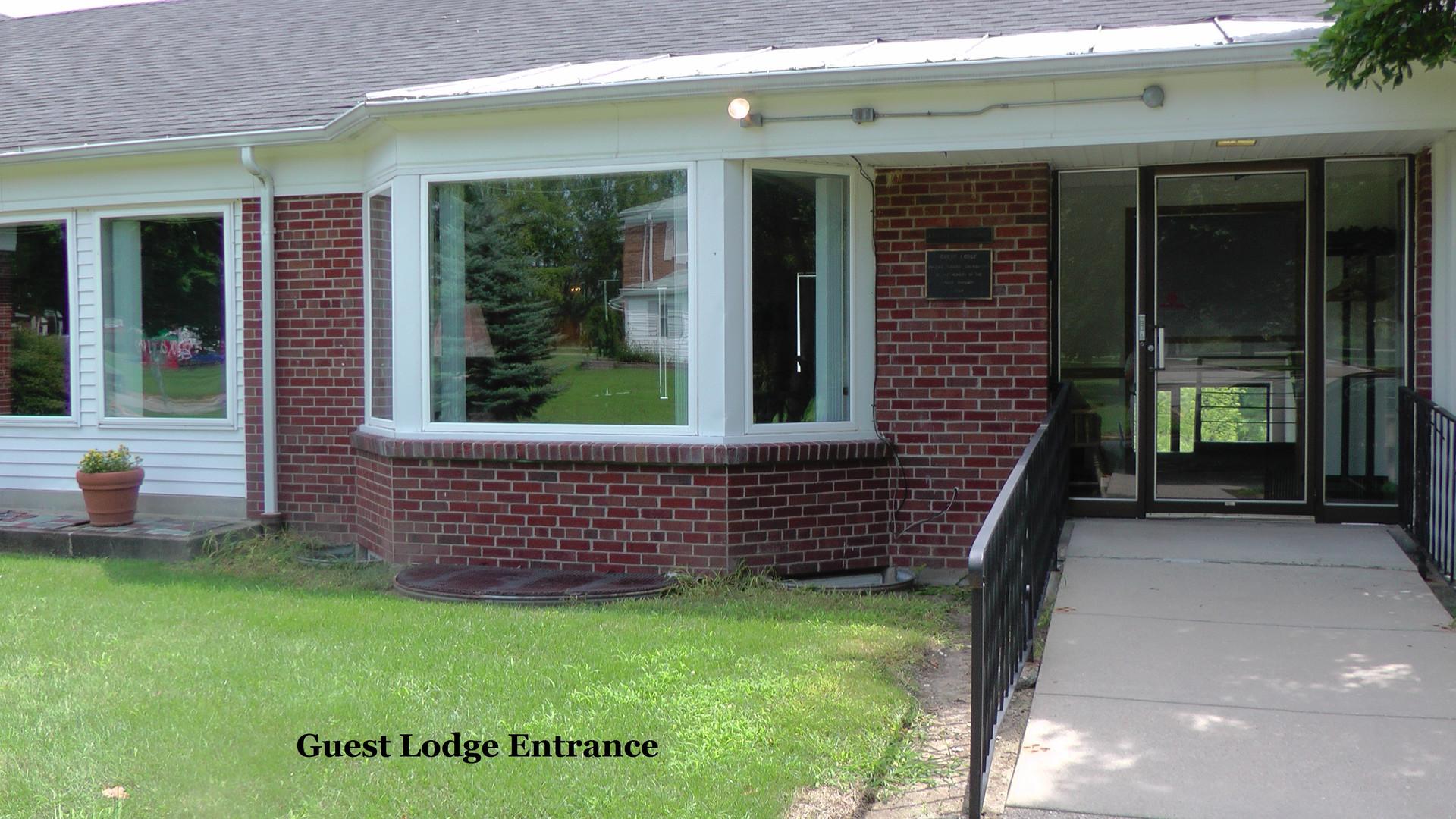 Guest Lodge Entrance