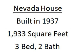 nevada house stats