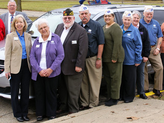 The National Home Welcomes Our Seventh and Final Van