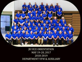Junior Vice Orientation: 2017