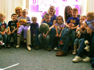 National Home Purples Up for Military Kids