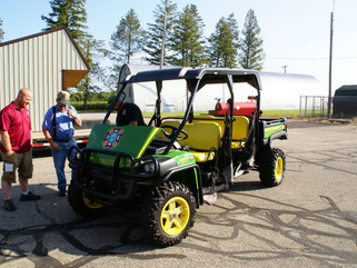 A John Deere Gator....from our friends in Janesville, WI