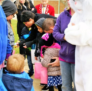 Extra sweet moment at this year's Easter Treat