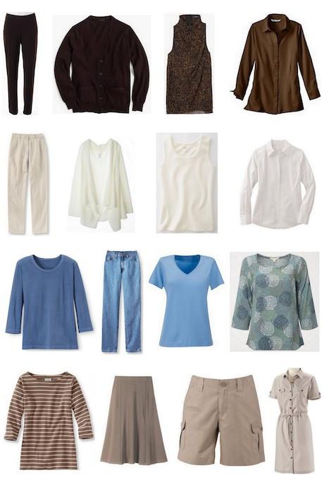 Example of 4x4 wardrobe
