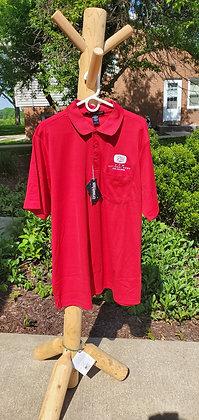 Devon & Jones Men's Pocket Polo With Pocket-Red