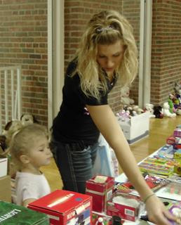 National Home Kids Experience the Joy of Giving
