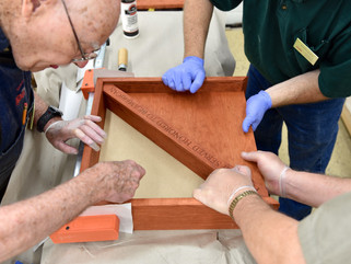 Marc Adams School of Woodworking: A Weekend to Honor Those Who Have Served