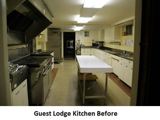 The Guest Lodge Kitchen Gets a Facelift