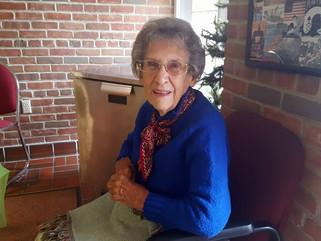 National Home Matriarch, Betty Hendrickson Turns 90!