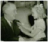 Historical image of Buddy Poppy Child and President