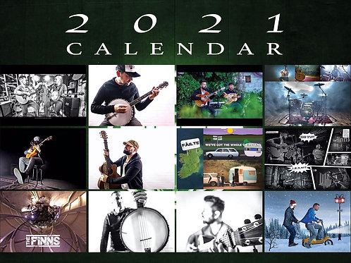 Calendar - Official The Finns 2021 Calendar