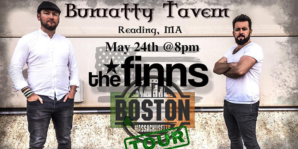 The Finns - Bunratty, BOSTON/MA Tour