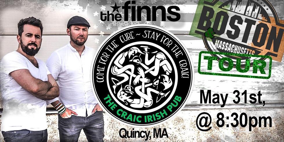 The Finns at The Craic - Boston/MA Tour