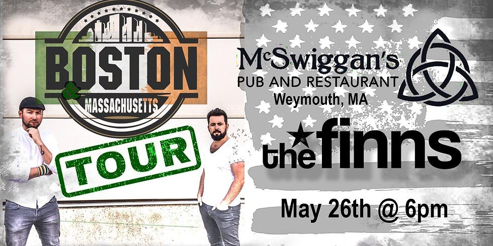 The Finns at McSwiggans - Boston/MA Tour
