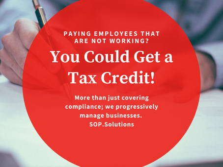 Multiple Tax Credits/Benefits Available; TIMING CRITICAL