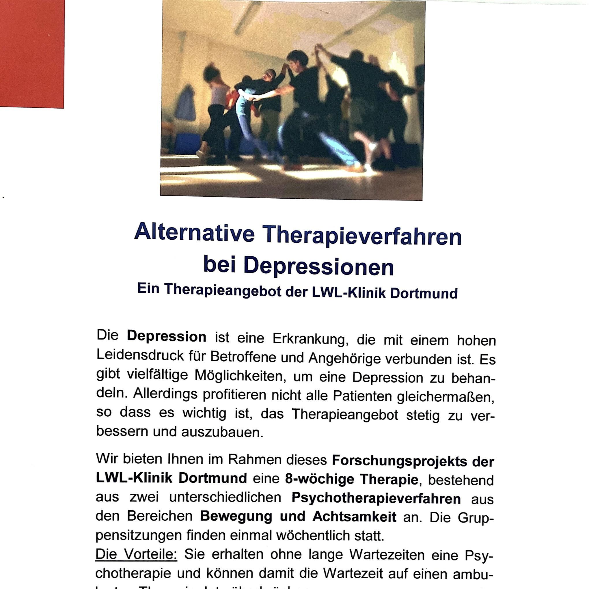 MindBodyMove  Therapie bei Depression