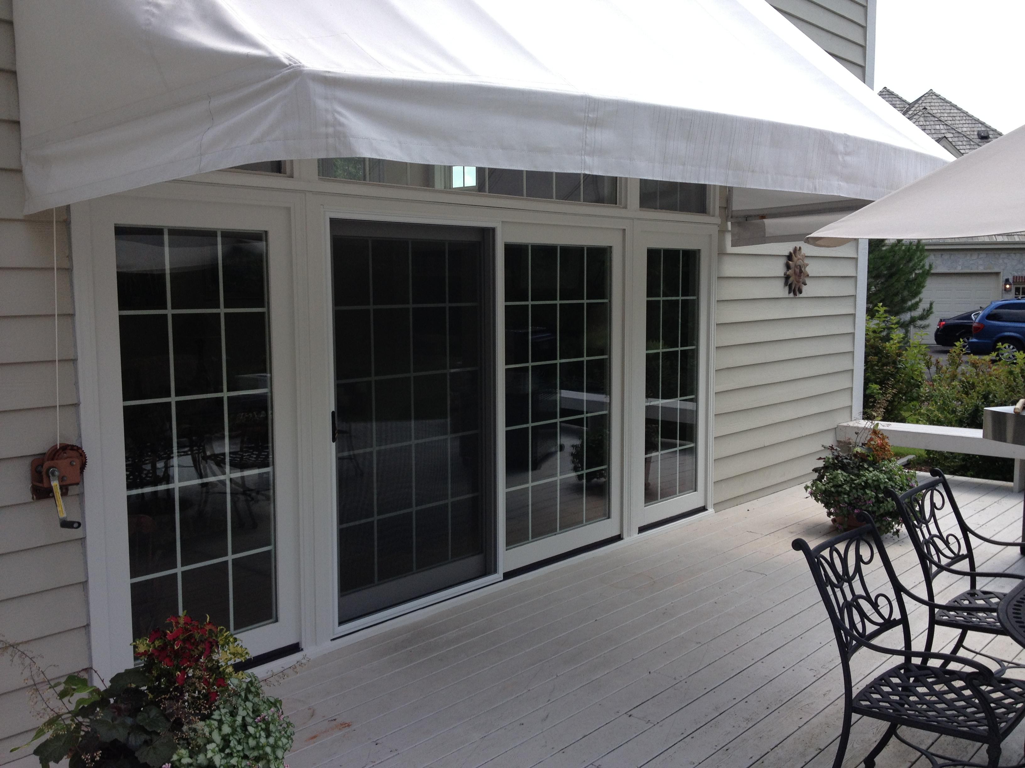 patio door and sidlites
