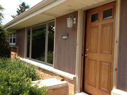 new front door and window