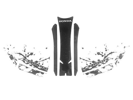 Protector de tanque + pierneras con stop grip Honda CB190R