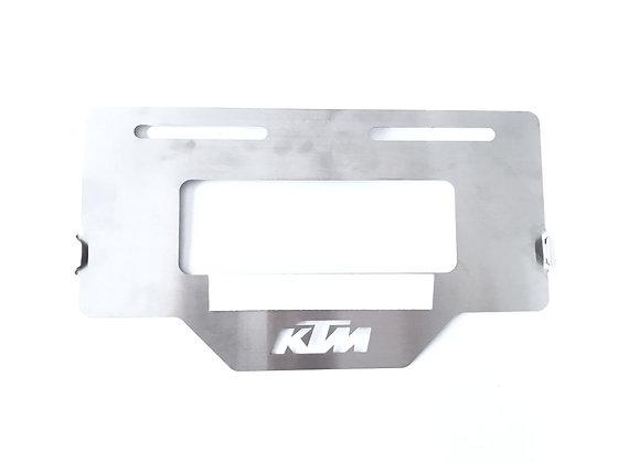 Protector placa KTM Duke