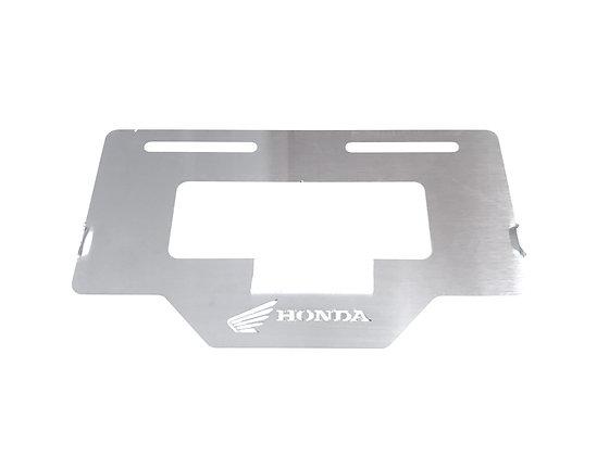 Protector placa Honda