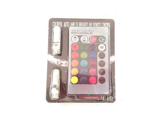 Cocuyos Multifunción RGB con control remoto