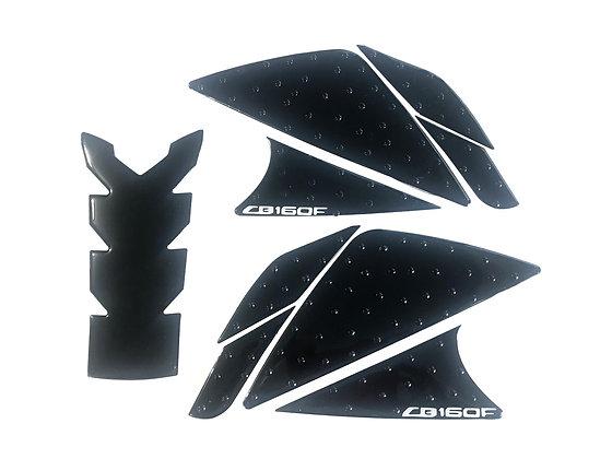 Protector de tanque + pierneras con stop grip Honda CB160F