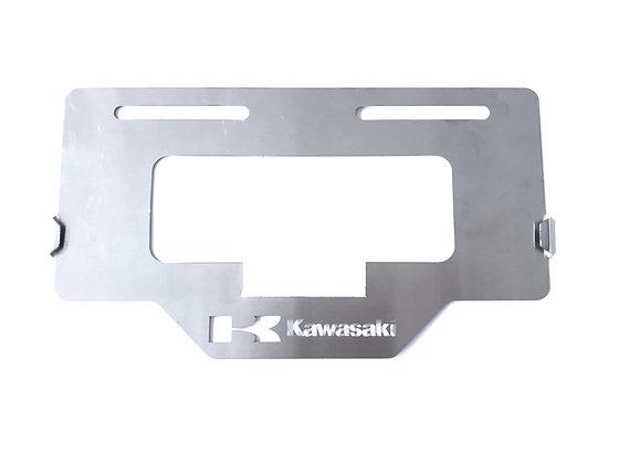 Protector placa Kawasaki