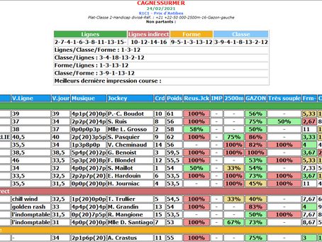 Support d'analyse - Tirage de lignes 24/02/21