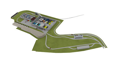 Ground Development Layout | Recycling Automation Systems US
