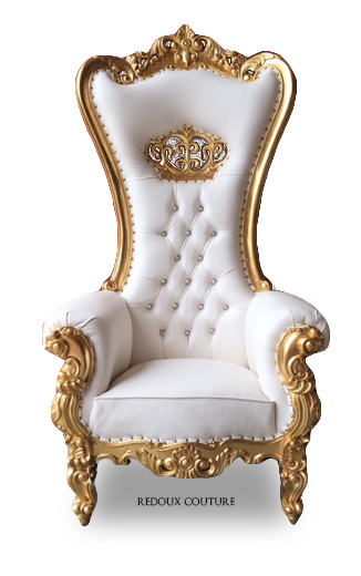 true luxury as the rococo throne chair creates a traditional style in your living room or family room featuring an elegant sleek rococo