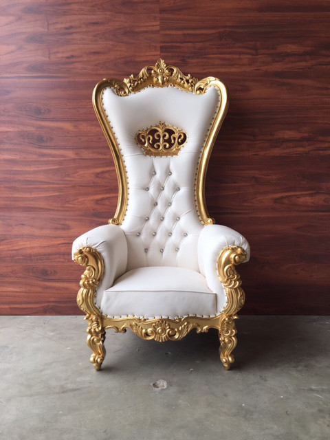 crown rococo throne chair | rxcouture