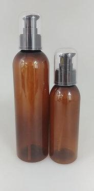 Amber PET Bottle - Serum Pump