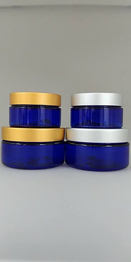 Blue PET Jars
