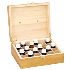 Wooden Essential Oil Storage Boxe