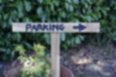 Location décoration, objets mariage panneau direction