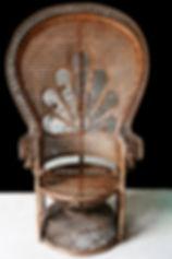 Location décoration, objets mariage fauteuil Emmanuelle