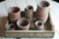Location décoration, objets mariage pot en terre cuite
