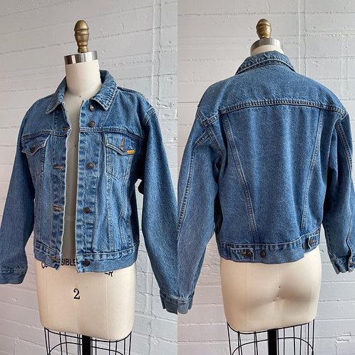 1980s Denim Jacket - Medium