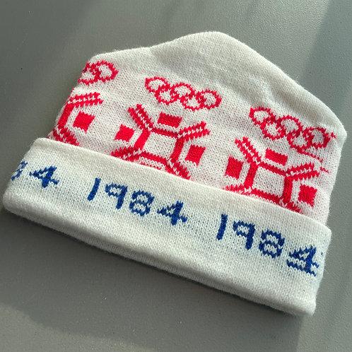 1980s Deadstock Toque - 1984 Olympics