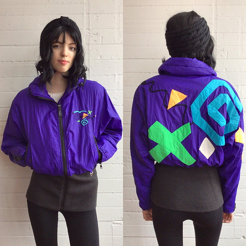 1980s Wacky Ski Jacket - Small / Medium