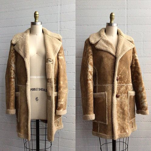 1970s Shearling Jacket - XLarge